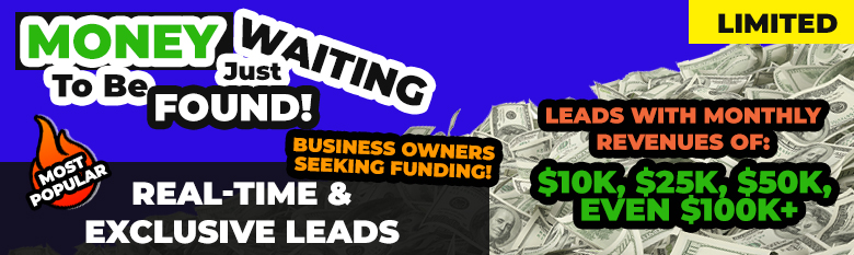 Business Financing Real Time Loan Leads