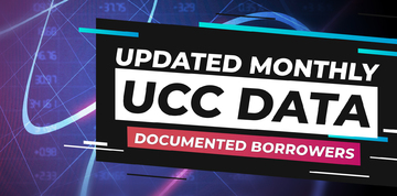 UCC Leads of Uniform Commercial Code Filing Data