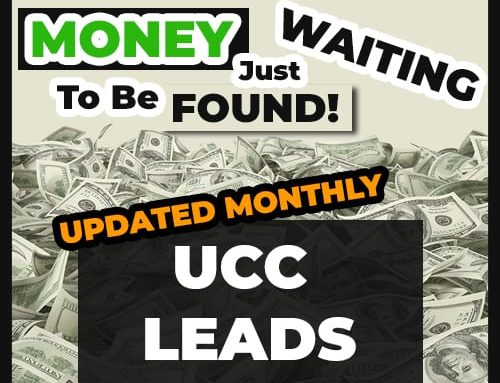 Using UCC Records to your Advantage..