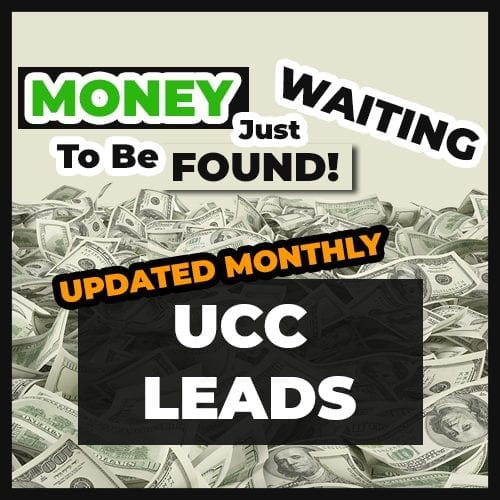 UCC Leads Merchant Cash Advance